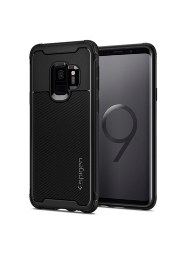 Spigen Spigen Galaxy S9 Kılıf, Spigen Rugged Ar Urban Siyah